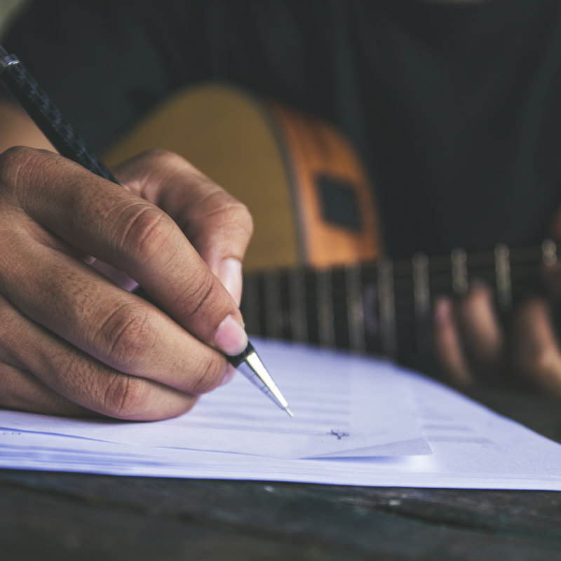Song Writing Workshop with Chris Fox - Sunday - Deepdale Festival | 23rd to 26th September 2021 - Anyone welcome to join in, you never know you might discover your inner bard.  Sign up at Reception.