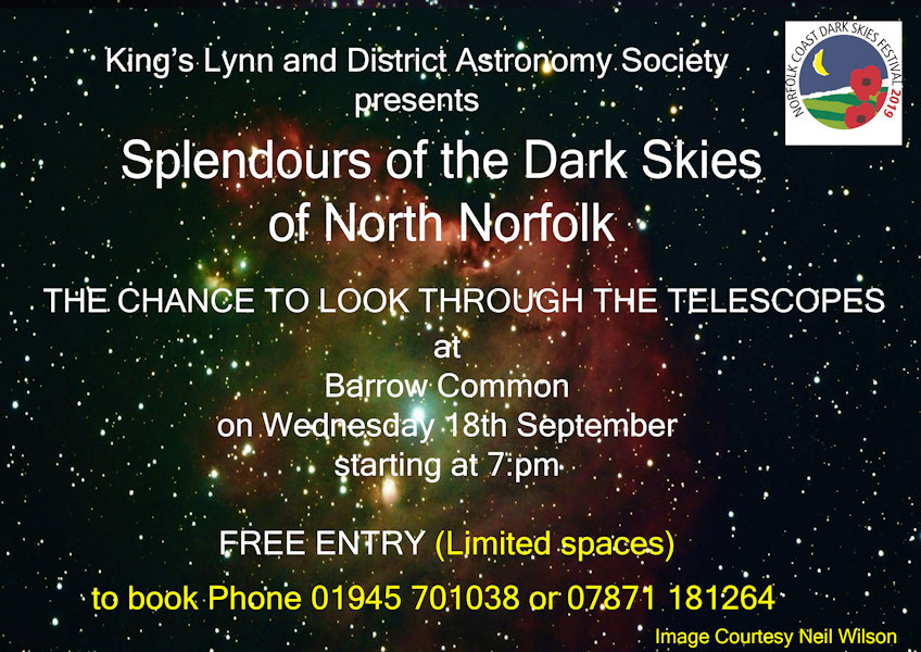 Splendours of the Dark Skies of North Norfolk, Barrow Common, Common Lane, Brancaster Staithe, North Norfolk Coast | A great chance to experience the dark skies of North Norfolk, as part of the Dark Sky Festival this time we are holding a star gazing evening at Barrow Common, Brancaster Staithe. | star, gazing, west, norfolk, astronomy, dark, skies, sky, wonders, festival