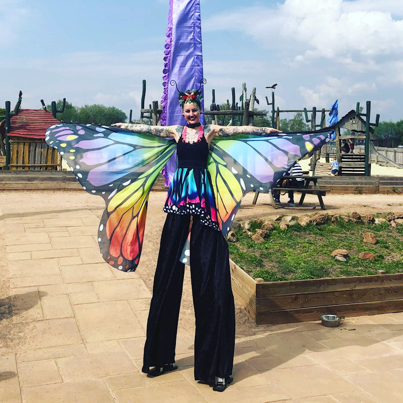 Stilt Walkers - Saturday - Deepdale Festival | 26th to 29th September 2019 - We are really excited about our first colaboration with the Oak Circus Centre and Lost In Translation Circus from Norwich, who are sending us various acts throughout the weekend.  Enjoy getting selfies with the stilt walkers on both Saturday & Sunday.