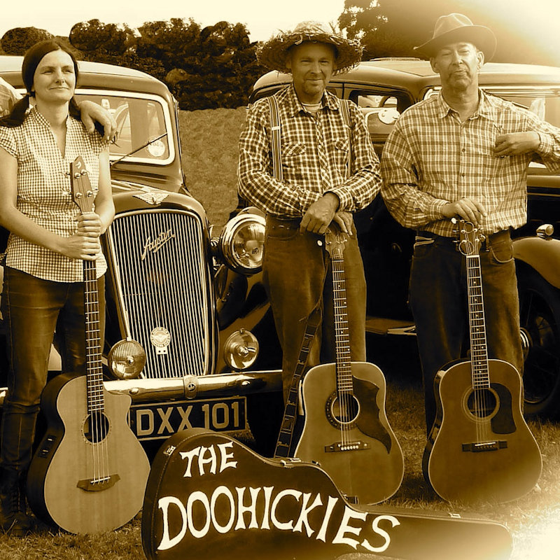 The Doohickies - Sunday - Deepdale Festival | 27th to 29th September 2019 - Rambling hillbilly family band