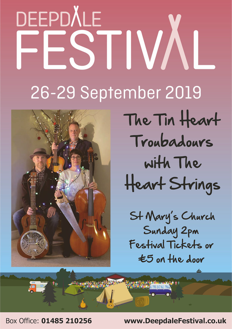 The Tin Heart Troubadours, St Mary's Church, Burnham Deepdale, North Norfolk Coast | The Tin Heart Troubadours with The Heart Strings join us for a very special concert in St Mary's Church, Burnham Deepdale as part of Deepdale Festival 2019. | tin, heart, troubadours, st, mary, burnham, deepdale, north norfolk