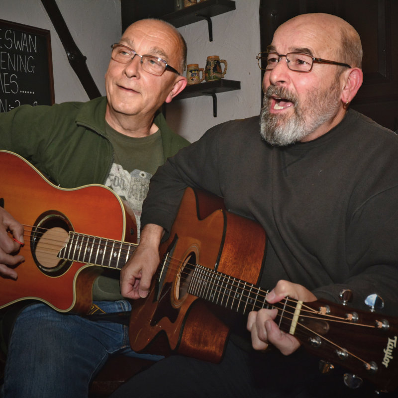 Live Music Session - Tinks & Ball, Deepdale Cafe | Tinks and Ball have been playing together for some 30 years in the Part Time Blues Band.  Paul is a renowned and distinctive player of the blues particularly around East Anglia. | live, music, acoustic, blues, where to go,