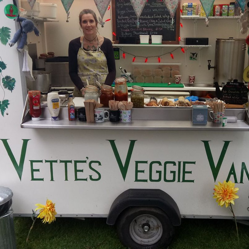 Vettes Veggie Van - tasty homemade vegatarian and vegan street food.Gluten free options available.The menu will include veggie curry,spicy bean burger,veggie wraps and much more - Deepdale Festival | 26th to 29th September 2019 | Deepdale Backpackers & Camping, Deepdale Farm, Burnham Deepdale, North Norfolk Coast