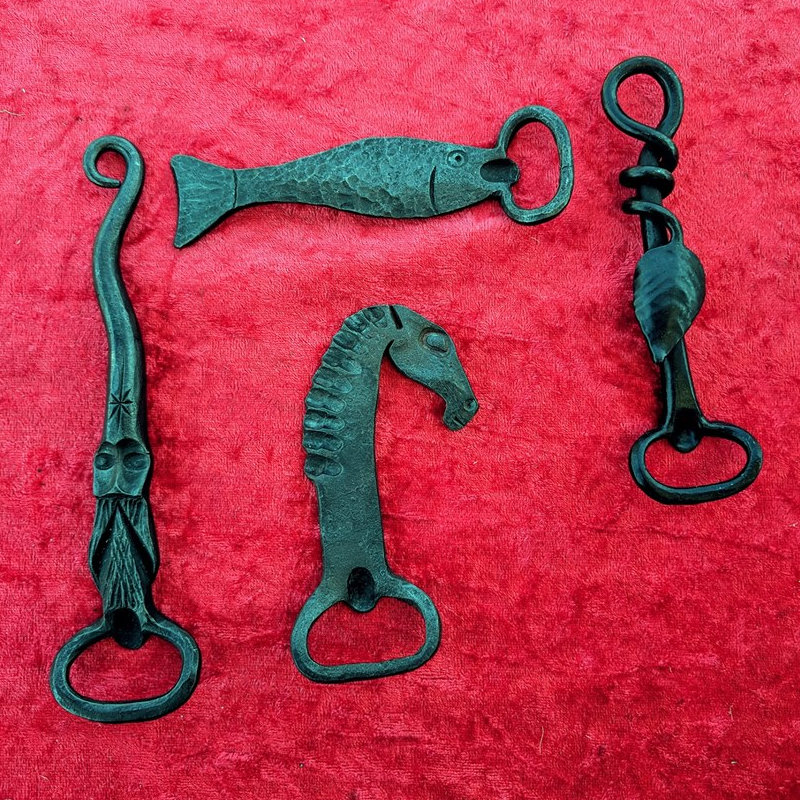 Westfield Forge and Crafts - Handmade metal items made by Blacksmith Rob Caley at Westfield Forge Dereham Norfolk. Metal Silhouette Wind chimes and Mobiles made by Dawn. Beautiful decorated horse shoe charms.  - Deepdale Festival | 26th to 29th September 2019 | Deepdale Backpackers & Camping, Deepdale Farm, Burnham Deepdale, North Norfolk Coast