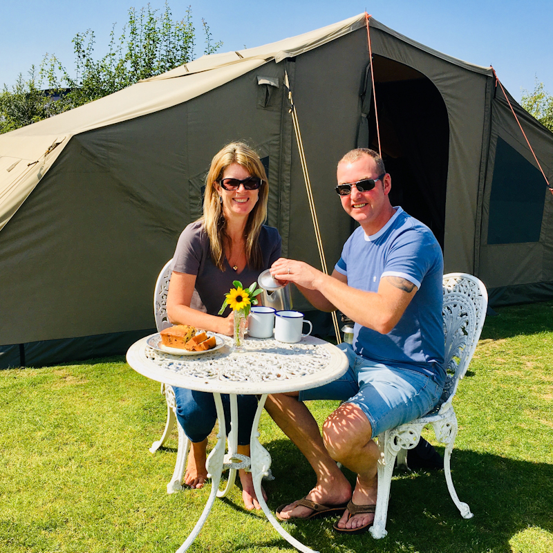 Glamping & Posh Camping at Deepdale Backpackers & Camping from MarGins